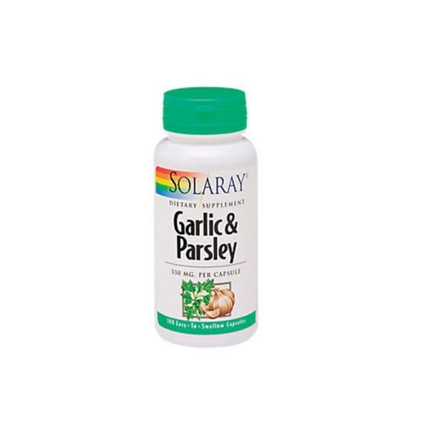 SOLARAY GARLIC & PARSLEY 100 CAP